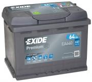 Exide Аккумуляторная батарея EXIDE Premium 12V 64Ah 640A