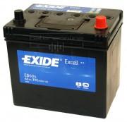 Exide Аккумуляторная батарея EXIDE Excell 12V 60Ah 390A