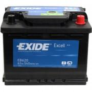Exide Аккумуляторная батарея EXIDE Excell 12V 62Ah 540A