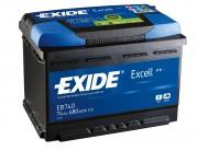 Exide Аккумуляторная батарея EXIDE Excell 12V 74Ah 680A