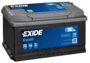 Аккумуляторная батарея EXIDE Excell 12V 80Ah 700A