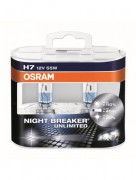 Osram Лампа H7 55W 12V PX26D NIGHT BREAKER UNLIMITED