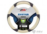 PSV Оплётка на руль PSV AVATAR (Бежевый) M