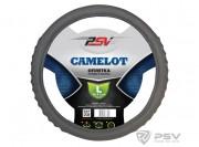 Оплётка на руль PSV CAMELOT (Серый) L