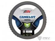 Оплётка на руль PSV CAMELOT (Серый) M