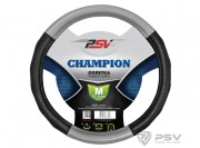 Оплётка на руль PSV CHAMPION (Серый) M