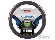 Оплётка на руль PSV CLEVER (Черный) L