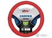 Оплётка на руль PSV CONVEX (Красный) L