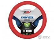 Оплётка на руль PSV CONVEX (Красный) S