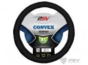 Оплётка на руль PSV CONVEX (Черный) XL