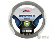 Оплётка на руль PSV WESTERN (Серый) M