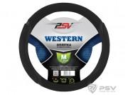 Оплётка на руль PSV WESTERN (Черный) M