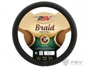Оплётка на руль PSV BRAID Fiber (Черный) М