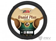 Оплётка на руль PSV BRAID PLUS Fiber (Черный) М