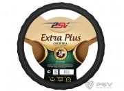 Оплётка на руль PSV EXTRA PLUS Fiber (Черный) М
