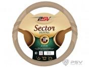 Оплётка на руль PSV SECTOR Fiber (Бежевый) М