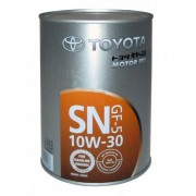 TOYOTA Motor Oil  SAE 10W30 SN/CF  Масло моторное 1л,