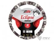 Оплётка на руль PSV ECLIPSE  (Бело-черный) M