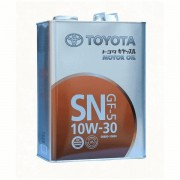 TOYOTA Motor Oil SAE 10W30 SN/CF Масло моторное 4л.