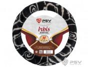 Оплётка на руль иск. мех PSV IRBIS (Черно-Серый) M