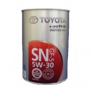 TOYOTA Motor Oil  SAE 5W30 SN/CF Масло моторное  1л.