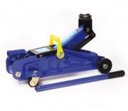 Домкрат гидравлический подкатной 2т+кейс AUTOVIRAZH (синий)