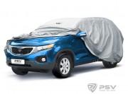 """PSV  Тент автомобильный PSV модель 20 с молнией """"A"""",4x4 без упаковки"""