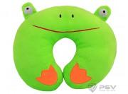 Подушка под шею LITTLE CAR Лягушка