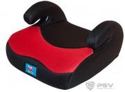 PSV  Бустер детский 15-36кг LITTLE CAR 02 Красный-черный