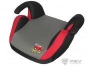 PSV Бустер детский 15-36кг LITTLE CAR LB-311 Серый-красный