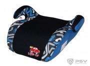 Бустер детский 22-36кг LITTLE CAR Smart лабиринт-синий