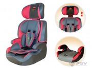 Автокресло детское 9-36кг LITTLE CAR 515B Розовый