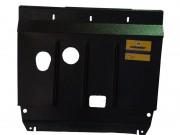 Защита Двигателя, КПП, Масляного фильтра. 2 мм, Сталь. Бензиновый двигатель: 1,4, 1,6.Привод на передние колеса.