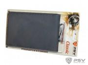 Оплётка на руль кожаная PSV CLASSIC (Серый) M, со шнуровкой