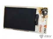 Оплётка на руль кожаная PSV CLASSIC (Черный) M, со шнуровкой