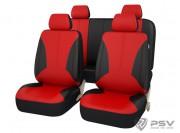 Чехлы универсальные PSV Imperial Lada (Красный), экокожа