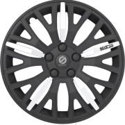 Колпаки на колёса (SPC/WC-1350L BK/CHROME (13))