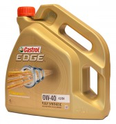 Castrol EDGE 0W-40 A3/B4 Titanium FST Моторное масло 4л