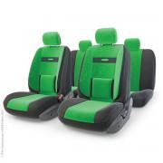 Авточехлы COMFORT COM-1105 BK/GREEN (M)