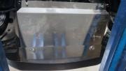 Защита картера Nissan Qashqai V-все (2014-)+ КПП (Алюминий 4 мм)