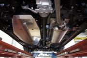 Защита топливного бака Toyota Rav 4, V-все (2013-) (алюмин.)