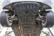 Защита картера BMW X3 V-все (2011-)/BMW X4 V-все (2014-) + КПП 2 части (Композит 8 мм)