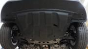 Защита картера Nissan Qashqai V-все (2014-)+ КПП (Композит 6 мм)