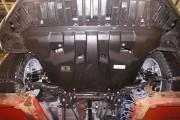 Защита картера Toyota Rav 4, V-2,0; 2,2D(2013-)+ КПП (Композит 6 мм)