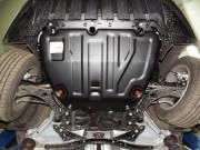 Защита картера Ford Focus (V-все, 2004-11)/C-Max (V-все, 2003-10) / Kuga (V-все, 08-12) + КПП (Сталь 1,8 мм)