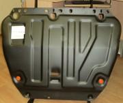 Защита картера Ford Focus (V-все, 2011-) + КПП штамп (Сталь 1,8 мм)