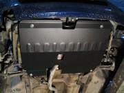 Защита картера Ford S-Max (V-все, 2006-)/Mondeo(V-все, 2007-)/Galaxy(V-все, 2013-) + КПП штамп. (Сталь 1,8 мм)