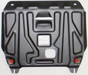 Защита картера Hyundai Solaris (Хёндай Соларис) V-1,4; 1,6(2010-2014-) / Kia Rio (Киа Рио) (V-все, 2011-2015-) + КПП штамп. (Ст