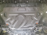 Защита картера Toyota Rav4 (V-2,0; 2,2TD 2013-)/ Rav4 (V-2,0 2010-2012) + КПП (Сталь 2 мм)
