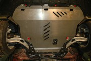 Защита картера Ford Focus ,V-1,6MT, 2,0МТ/АТ, 2,0 TDCI (2011-) + КПП (Сталь 2 мм)